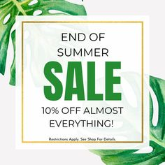 """SPV Fabrics on Instagram: """"👀 HAVE YOU SEEN?! The End of Summer Sale has begun!🎉 10% OFF almost everything in the shop! Sale ends 9/30/21 at midnight mountain time!…"""" End Of Summer, Summer Sale, Shop Sale, Have You Seen, The End, Everything, Mountain, Fabrics, 21st"""