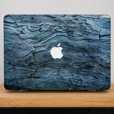 MacBook Air 13 Case 3D textures Blue bark Old Tree Design  MacBookPro Retina 15 No CD Hard Clear Plastic Case Macbook Air 11 Pro 13 with CD