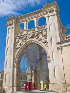Lecce - Sedile (Palazzo del Seggio), Province of Lecce , Puglia region Italy