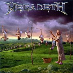 Megadeth - Youthanasia:  Oddly enough, I've always liked this one more than Countdown to Extinction for whatever reasons being.