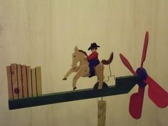 whirligigs from recycled wood