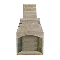 Bring the warmth and traditional style of the FireRock Conventional Fireplace - 30 Outdoor Fireplace Plans, Outdoor Wood Burning Fireplace, Outdoor Stone Fireplaces, Outdoor Fireplace Designs, Backyard Fireplace, Backyard Patio, Outdoor Stove, Fireplace Box, Fireplace Inserts