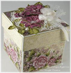 Majestic Blooms Gift Box - Heartfelt Creations