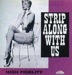 SEXUAL ALBUM COVERS, 1950S / 1960S