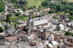 Collégiale St-Feuillen et Centre historique de la ville Fosses-la-Ville