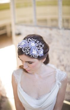 Hermione Harbutt Bridal Collection: Heavenly Headdresses