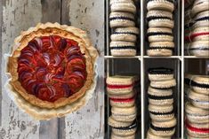 Rezept auf www.auxbulles.at/blog Pie, Desserts, Blog, Dessert Ideas, Food And Drinks, Food Food, Torte, Tailgate Desserts, Cake