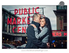 Pike Place Market Seattle Engagement Photography...John and Angeline are Engaged!!! — Vail Studio