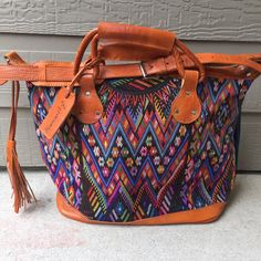 The Getaway Bag by Humanity Bags. $10 for every bag sold goes back to children & families in need in Central America.