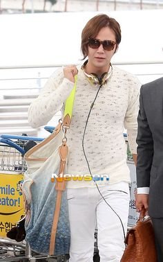 Jang Keun Suk @ Incheon Airport for Osaka
