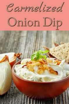 "This recipe for carmelized onion dip uses carmelized onions to make a dip thats tastes much better than the premade ""onion"" dips from the grocery store. Bhg Recipes, Cooking Recipes, Carmelized Onion Dip, How To Carmalize Onions, French Onion Dip, Homemade Cheese, Recipe Using, Grocery Store, Dips"