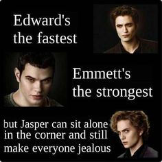 Twilight Saga - Edward, Emmett & Jasper