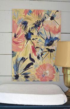 You paid more than me: DIY Canvas Painting for Nursery