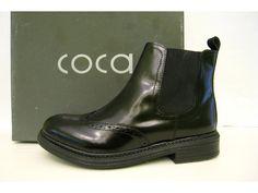 NÍZKÉ KOZAČKY COCA KOŽENÉ Pánský styl, nizké moderní kožené polokozačky. Chelsea Boots, Ankle, Shoes, Fashion, Dark Around Eyes, Moda, Zapatos, Wall Plug, Shoes Outlet