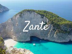 Zante da molti è definita con la più bella isola tra quelle della Grecia