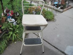 Metal Folding Step Stool And Chair