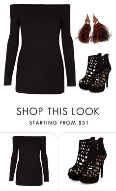 """""""Untitled #1188"""" by telletubbies ❤ liked on Polyvore featuring TIBI and Louis Vuitton"""