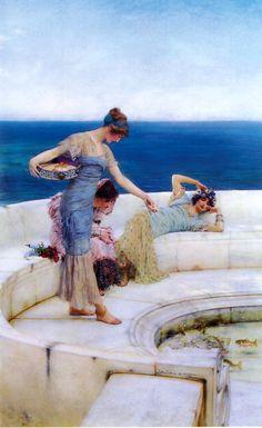 Silver Favorites, Sir Lawrence Alma-Tadema