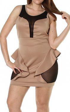 #plus size #peplum mini #dress Plus Size Peplum, Plus Size Mini Dresses, Curvy Plus Size, Plus Size Women, Fasion, Women's Fashion, Fashion Outfits, Pink Clubwear, Curve Dresses