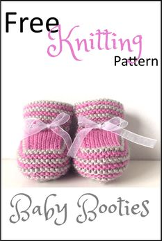 Der Neuen Stash Busting Baby Booties Free Knitting Pattern - Daisy and Storm Free knitting pattern for cute baby booties knitted flat on two needles with short rows so no picking up stitches! Free Knitting Patterns - dolls, teddy bear, washcloths and afgh Baby Booties Knitting Pattern, Knit Baby Shoes, Booties Crochet, Baby Hats Knitting, Crochet Baby Booties, Free Knitting, Baby Bootees, Baby Bootie Pattern, Hat Crochet