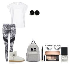"""""""Play With Prints In UGG: Contest Entry"""" by folieapanic ❤ liked on Polyvore featuring Hahn, UGG Australia, Joshua's and thisisugg"""