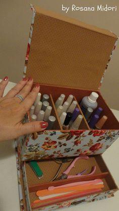 Caixa de esmaltes em cartonagem aberta | Flickr - Photo Sharing!