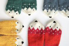Mitten Gloves, Mittens, Fauna, Book Art, Winter Hats, Diy Crafts, Knitting, Crochet, Om