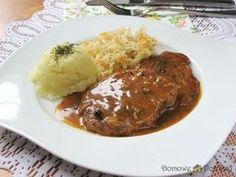 schab-w-sosie-wlasnym3 Kielbasa, Mashed Potatoes, Food And Drink, Pork, Beef, Ethnic Recipes, Asia, Diet, Whipped Potatoes