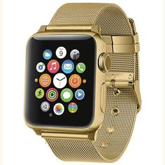 Milanese loop strap for Apple watch band Apple watch 4 3 mm iWatch Band correa belt watchband for apple watch Apple Watch 42mm, Apple Watch Sizes, Best Apple Watch, Apple Watch Series 2, Apple Mac, Buy Apple, Apple Iphone, Apple Store, Rose Gold Apple Watch