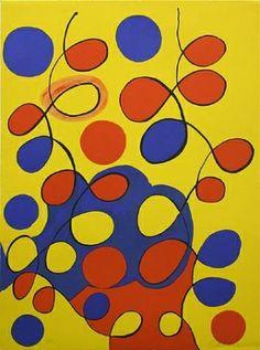 Lithograph - Alexander Calder - Tapestry