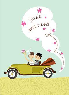 Just married 25 years ago! Wedding Art, Wedding Album, Wedding Images, Wedding Greetings, Wedding Congratulations, Wedding Illustration, Cute Illustration, Happy Anniversary, Anniversary Cards