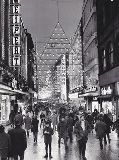 Dezember 1969: Ein Blick von der Georgstrasse in die Große Packhofstrasse   Quelle: Herbert Rogge