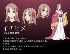 Clothing study. Hair study. Expression study. - Ichihime - Nobunaga the Fool