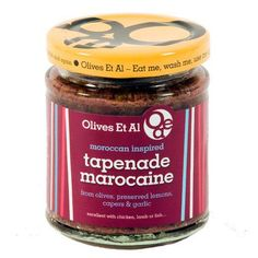 Vegetarian tapenade using Moroccan preserved lemons. Same ingredients as the Tapenade Provencal but with lemons instead of anchovies. Brilliant!