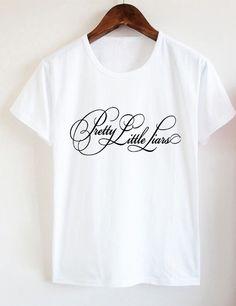 M - L - XL - Cotton Women's Casual T Shirt - Pretty Little Liars #NONGCHAO #loose