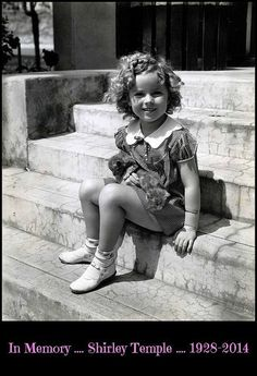 In Memory .... Shirley Temple .... 1928 - 2014 | Flickr - Photo Sharing!