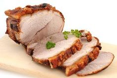 Pork Tenderloin with Warm Plum Salsa Recipe by Lauren Gordon Pork Leg Roast, Pork Loin, Pork Tenderloin Recipes, Roast Recipes, Oven Cooking, Cooking Recipes, Paleo Recipes, Stovetop Pressure Cooker, Leftover Pork