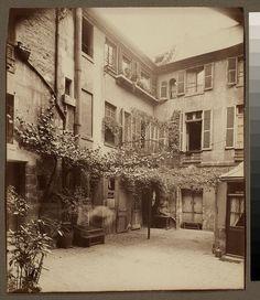 Eugène Atget (French, 1857-1927) Cour de Rouen (boulevard St. Germain) 1898.