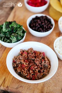 Easy Freezer Taco Filling | How Does She