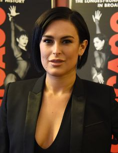 Rumer Willis Promotes Her Upcoming Role in Broadway's 'Chicago'