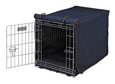 Luxury Crate Cover in Denim Fabric (2X Large: 48 x 30 x 33 in.) ** Review more details here : Dog kennels