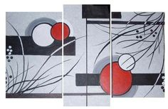 cuadros decorativos minimalistas (2) Abstract Canvas Art, Acrylic Painting Canvas, Acrylic Art, Canvas Wall Art, African Art Paintings, Modern Art Paintings, Easy Paintings, Cubist Art, Texture Painting