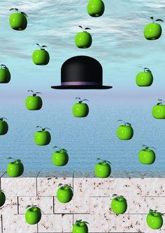 The Absence of Magritte by mouldiwarp on deviantART