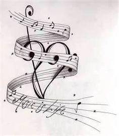 Music Is Life Tatt Design By Happyhippybassistjpg