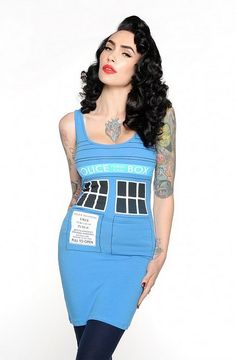 Whatever the occasion, there's something spectacular about a gorgeous dress — even one to rep Doctor Who