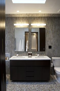Apartments, Green Wall Soap Container Apartement Shower Towel Wall Patterned Rack C Brick Panel Faucets Water Mirror Wall Patterned Panel Aucets Water Powder: Amazing Vertical Expansion to Historic 1917 Limestone Home on Park Avenue