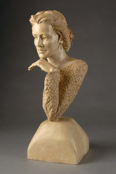 Her elegant sculptures of women exhibit a fluidity of grace that is also echoed in her carvings of animals. Description from woodworkessence.com. I searched for this on bing.com/images