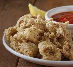 Carrabba's Calamari with Marinara Sauce