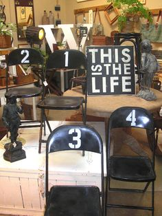 Idea for my folding chairs!