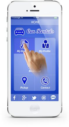 Your Car Hire App comes ready with Mobile Booking Feature, making it easy for your customers to browse cars and book directly from their mobile devices, eliminating the need to be on a computer or laptop.